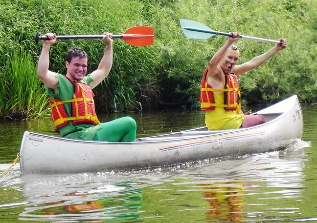 Canoeing in Gloucestershire - This could be you.