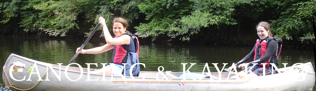 Canoeing and Kayaking in Monmouthshire