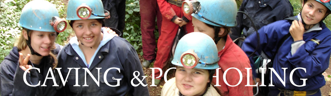 Caving in Herefordshire