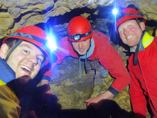 Stag Party Caving in Monmouthshire