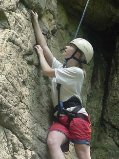 outdoor activities - Rock Climbing Symonds Yat