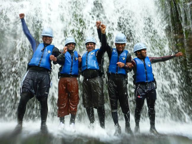Outdoor Activities - Gorge Walking in Wales - Team Building in the Brecon Beacons