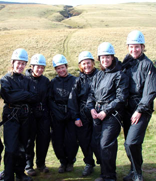 Gorge Walkers in Wales - with Gorge Walking Wales.com