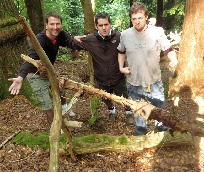 Stag Party - Survival Training in the Forest of Dean